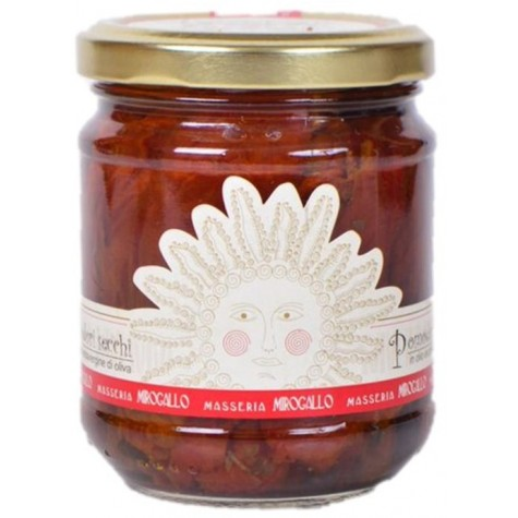 TOMATES SECHEES A L'HUILE D'OLIVE 195 g