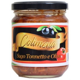 SAUCE TOMATE THON ET OLIVES
