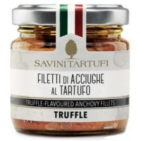 FILETS D'ANCHOIS A LA TRUFFE D'ÉTÉ